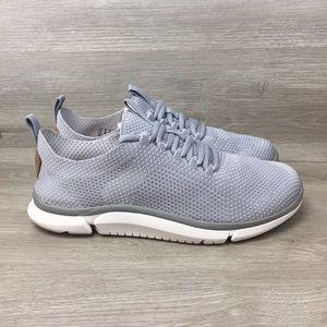 Clarks Shoes - Clarks Trigenic Men's Gray Knit Slip On Sneakers